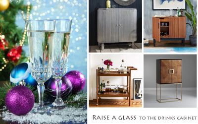 Raise a glass – to the drinks cabinet