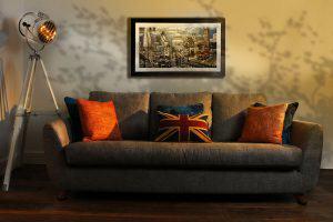 Retro Living Room Cheshire UK Interior Designer