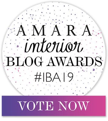 Amara Interior Blog Awards Badge